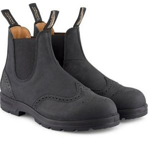 New Blundstone 1472 Rustic Black Brogue Boots